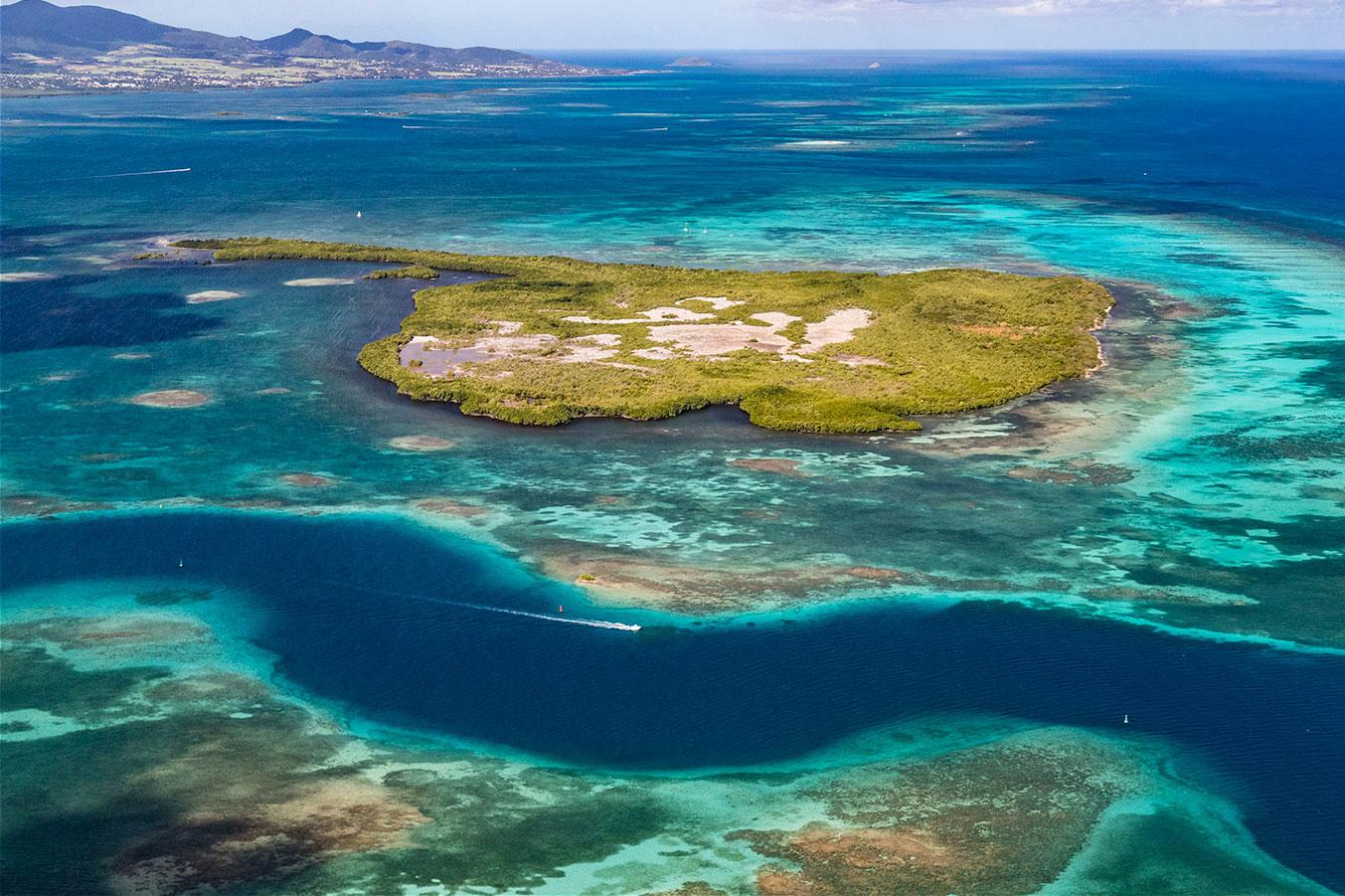 sable Réserve îlets de des à lagon de ce vaste de la et grâce l'excursion à zones blanc la découverte mangrove Naturelle Partez aux classées nombreuses vpqnWRRx